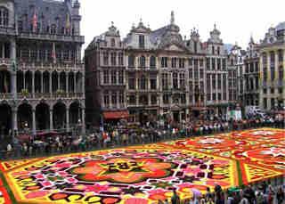 alfombra de bruselas
