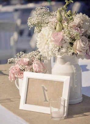 Centros De Mesa Para Bodas Con Preciosos Arreglos Florales