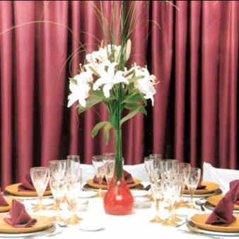 centros de mesa con flores artificiales 2