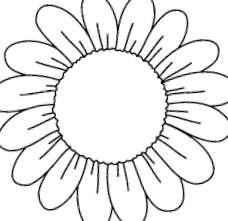 dibujos de flores pintadas
