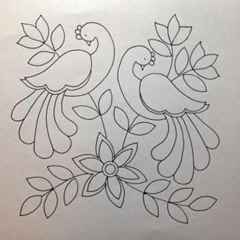 Dibujos De Flores Para Bordar A Mano - Manteles-para-bordar