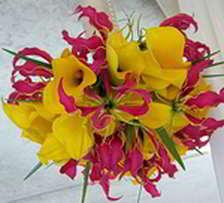 ramos de flores colores con imagenes